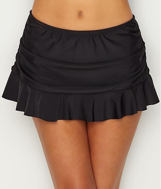 24th & Ocean: Solid Ruffle Skirted Bikini Bottom