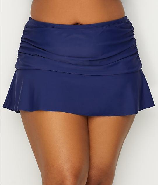 24th & Ocean: Plus Size Ruffle Skirted Bikini Bottom