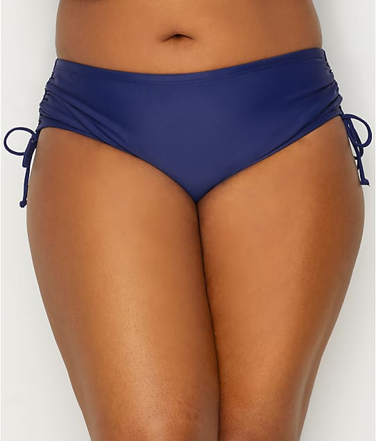 24th & Ocean: Plus Size Solid Side Tie Bikini Bottom