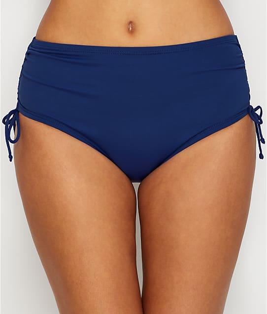 24th & Ocean: Solid Adjustable Side Tie Smoothing Bikini Bottom