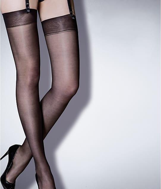 Pour Moi Secret Luxe Sheer Stockings in Black 250