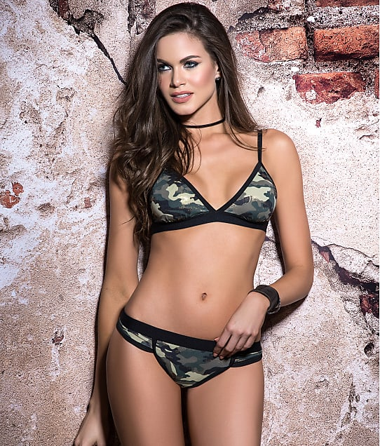 7046b7f648c670 Mapalé Camo Bra And Panty Set | Bare Necessities (2523)