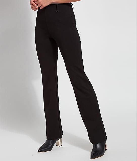 Lyssé Ponte Baby Bootcut Pants in Black(Front Views) 2617