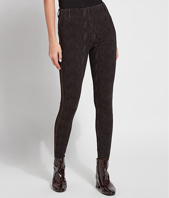 Lyssé: Medium Control Aces Knit Denim Leggings