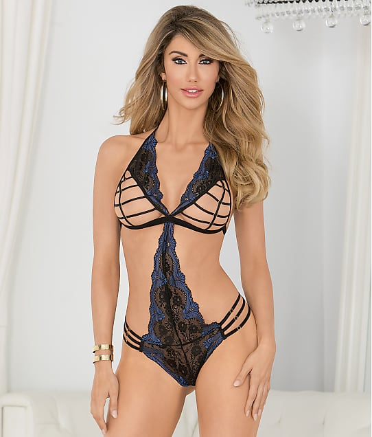 Escante Open Cup Teddy Lingerie 27450 at BareNecessities.com