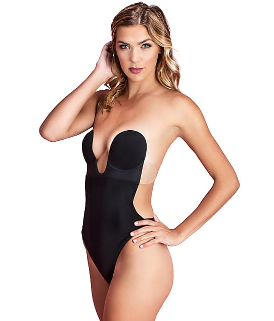 f99fa897c4e Fashion Forms U Plunge Backless Strapless Thong Bodysuit