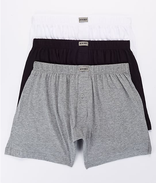 2(x)ist: Knit Boxer 3-Pack