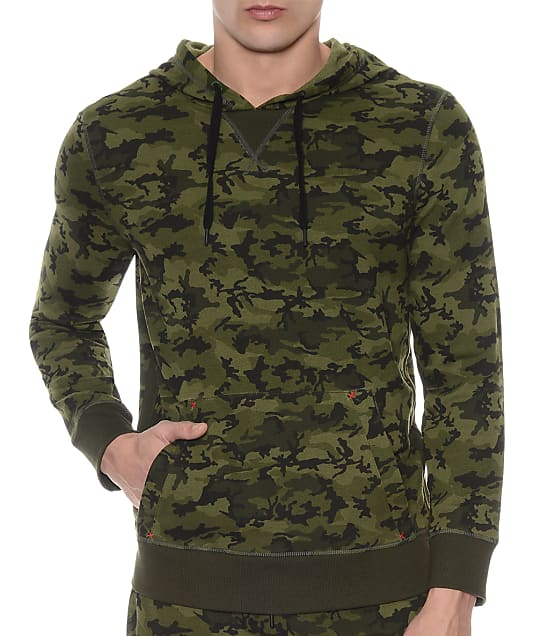 2(x)ist: Camo Hooded Pullover