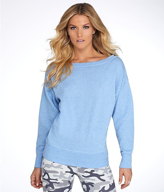 2(x)ist: French Terry Drop Shoulder Sweatshirt