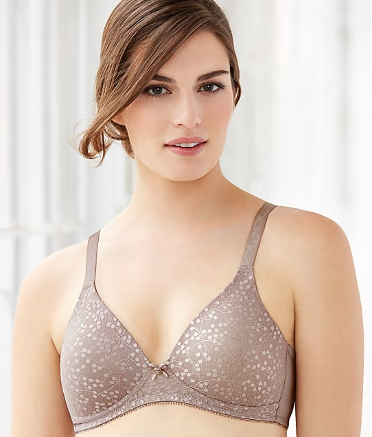 Glamorise The Perfect ''A'' Wire-Free T-Shirt Bra in Taupe 3010