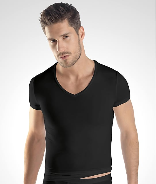 Hanro: Micro Touch V-Neck T-Shirt