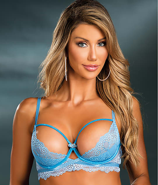 Shirley of Hollywood: Lace Open Cup Bra