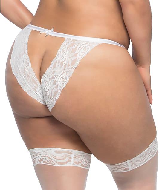 Oh Là Là Chéri  : Plus Size Raquel Open-Back Tanga