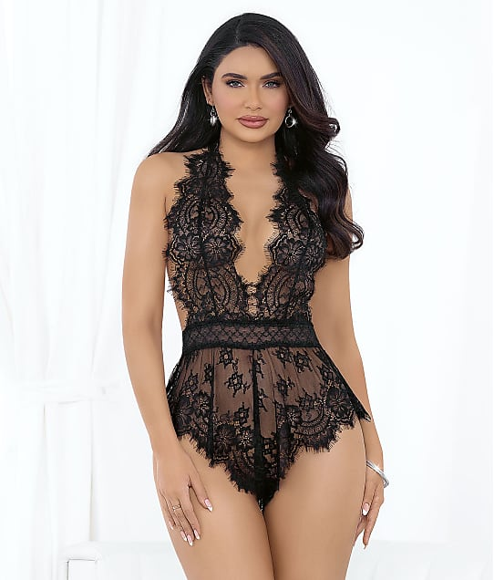 Escante: Eyelash Lace Romper