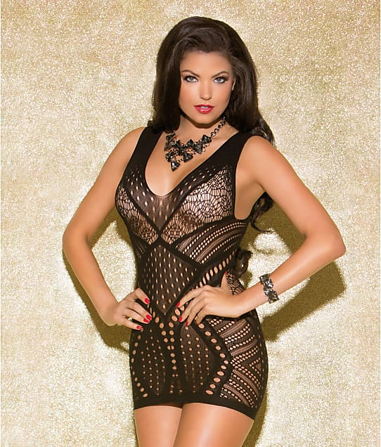Glitter: Mesmerize Mini Dress