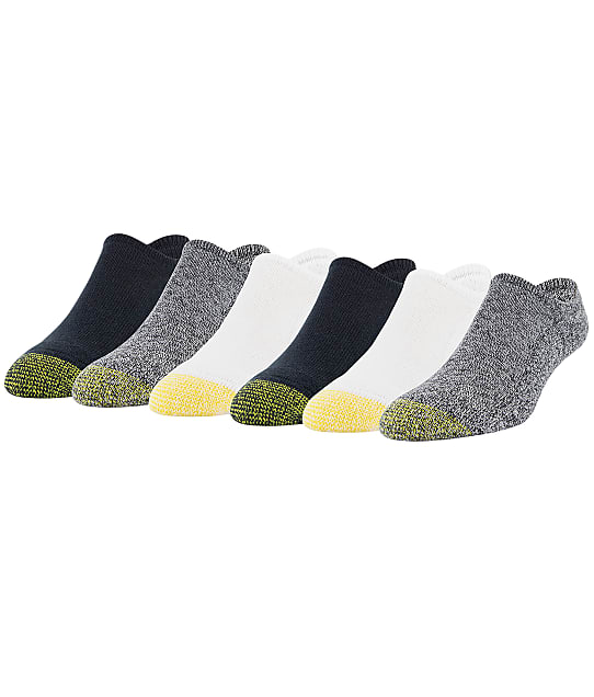 Gold Toe: Davenport Invisible No Show Socks 6-Pack