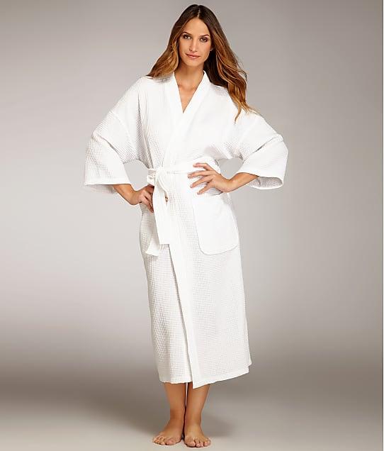 Monarch Cypress: Waffle Cotton Unisex Kimono Robe