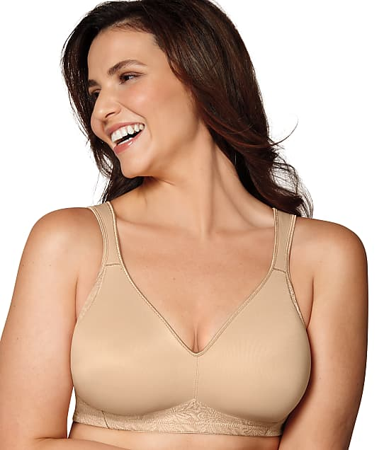 Playtex 18 Hour Smoothing Wire-Free Bra in Nude(Full Sets) 4049