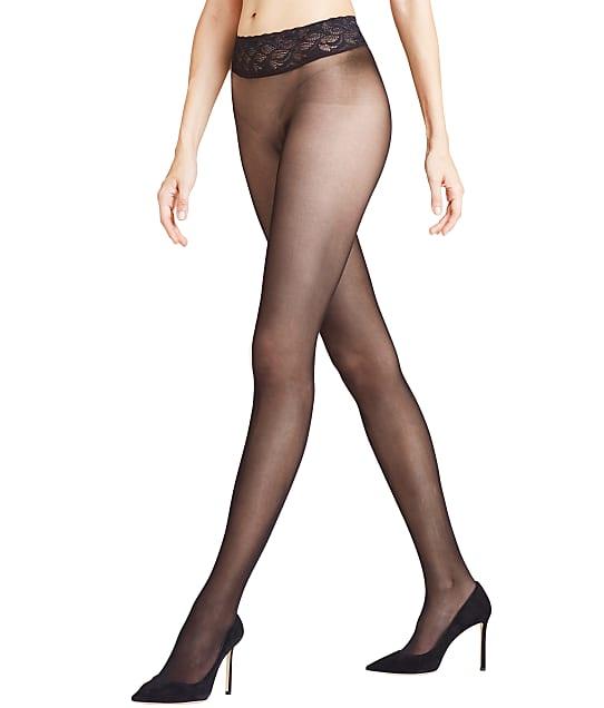 Falke Sensation Seamless Pantyhose in Black 40660