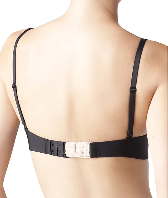 The Natural 2-Hook Bra Extenders 3-Pack in White / Black / Nude(Front Views) 4084M