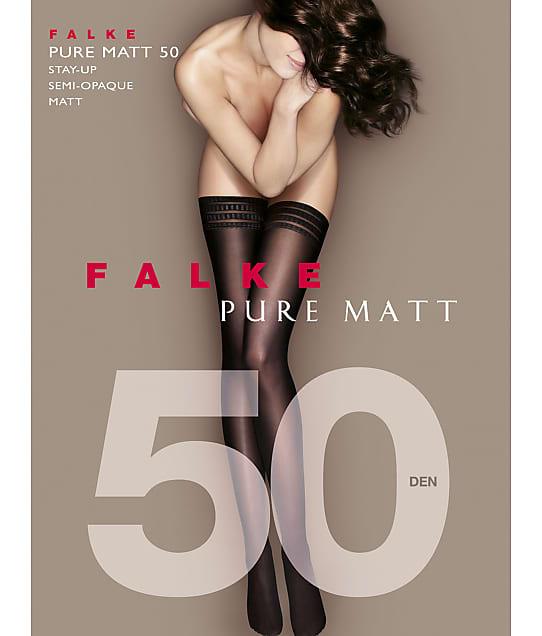Falke: Pure Matte Opaque Thigh Highs