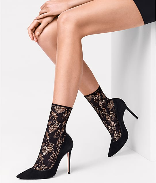 Wolford: Louise Lace Socks