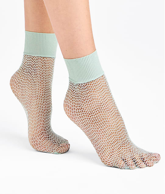 Wolford: Uniform Net Socks