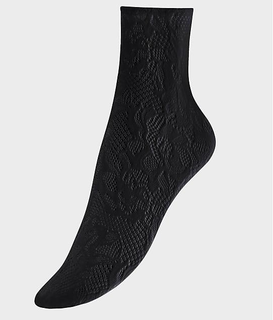 Wolford Morgan Socks in Black 41572