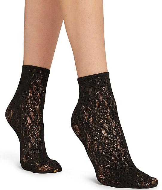 Wolford Ree Socks in Black 41579