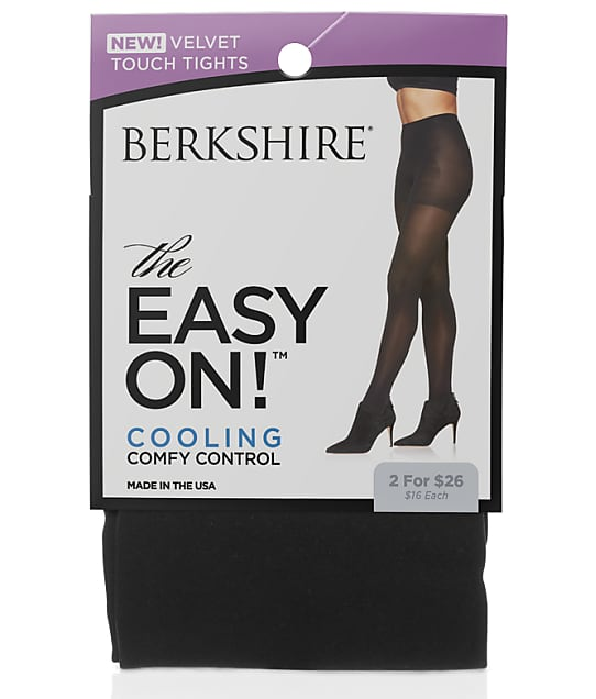Berkshire: Plus Size The Easy On!™ Velvet Touch Tights