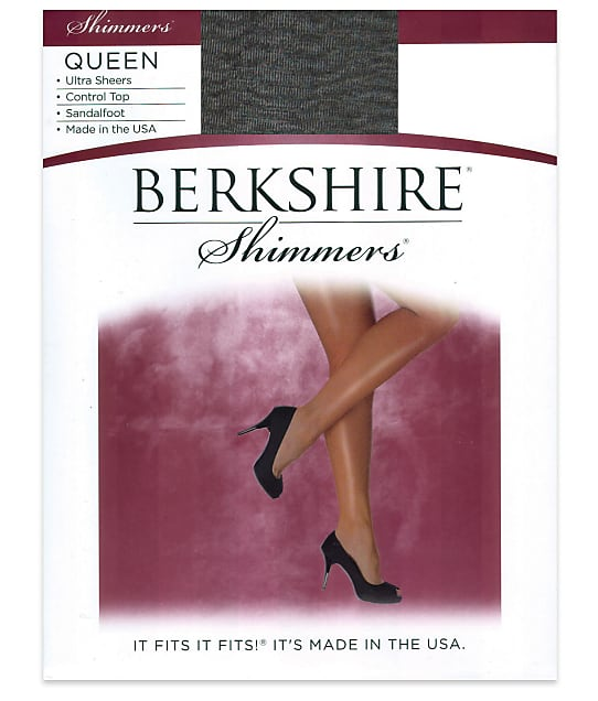 Berkshire: Queen Shimmers Control Top Pantyhose