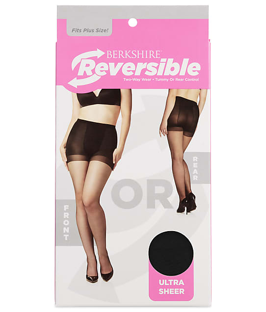 Berkshire: Reversible Two-Way Control Top Sheer Pantyhose