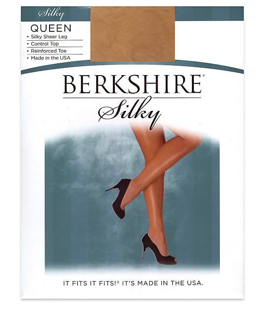 Berkshire: Queen Silky Sheer Control Top Pantyhose