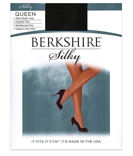 Berkshire: Queen Silky Sheer Control Top Pantyhose