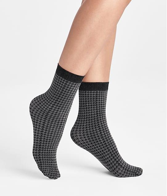 Wolford Leslie Socks in Black / Ash 45036