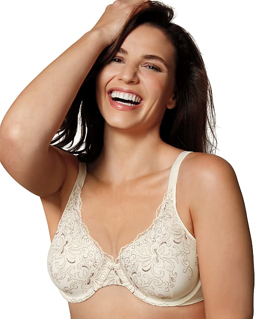 Playtex Secrets Beautiful Lift Bra in Mother Of Pearl(Front Views, Mother of Pearl) 4513-N
