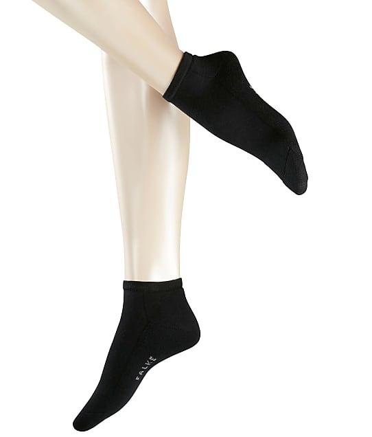 Falke Cosy Sneaker Socks in Black 46512