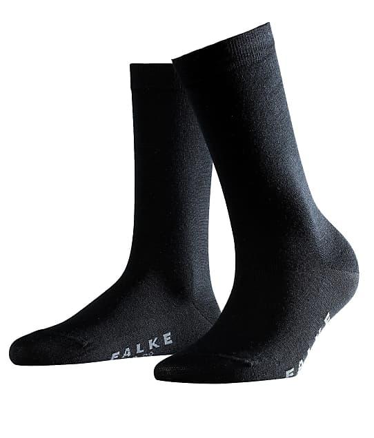 Falke Soft Merino Socks in Black 47488