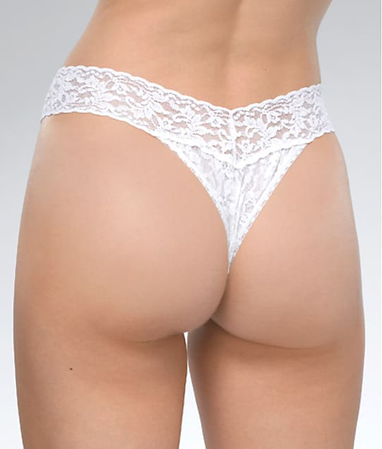 Hanky Panky: Election Bling Elephant Signature Lace Original Rise Thong