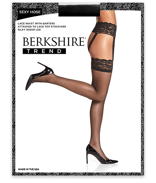 Berkshire: Sexy Hose Lace Waist Garter Stockings