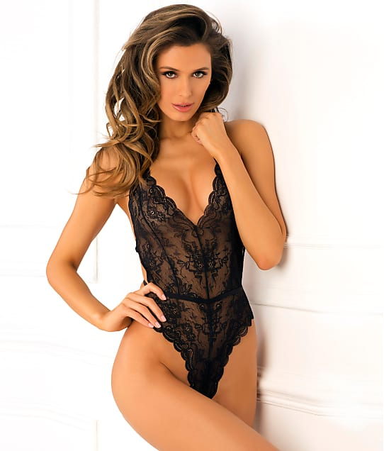 Rene Rofe: Strap Back Wireless Lace Teddy