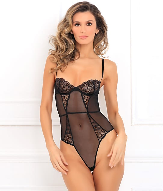 Rene Rofe: Slay With Me Mesh & Lace Teddy