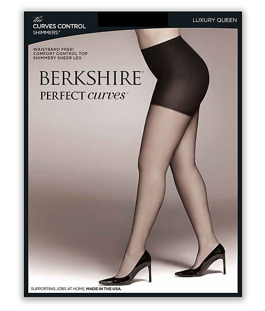 Berkshire: The Curves Control Shimmers Pantyhose