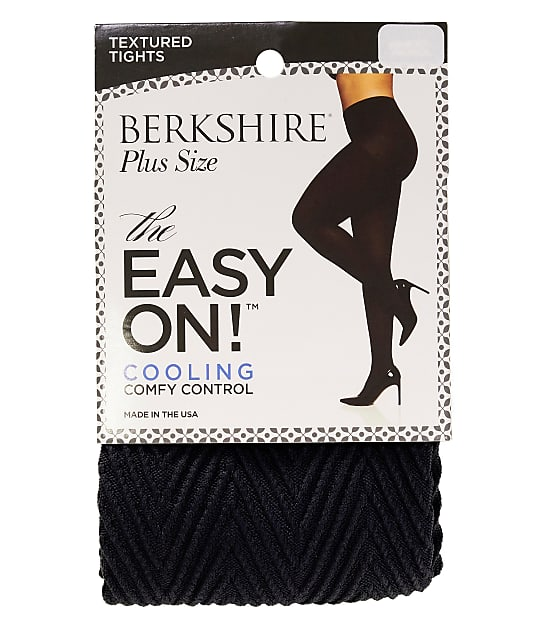 Berkshire: Plus Size Easy On Chevron Cooling Control Top Tights