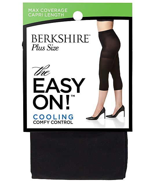 Berkshire: Easy On Cooling Control Top Capri Plus Size