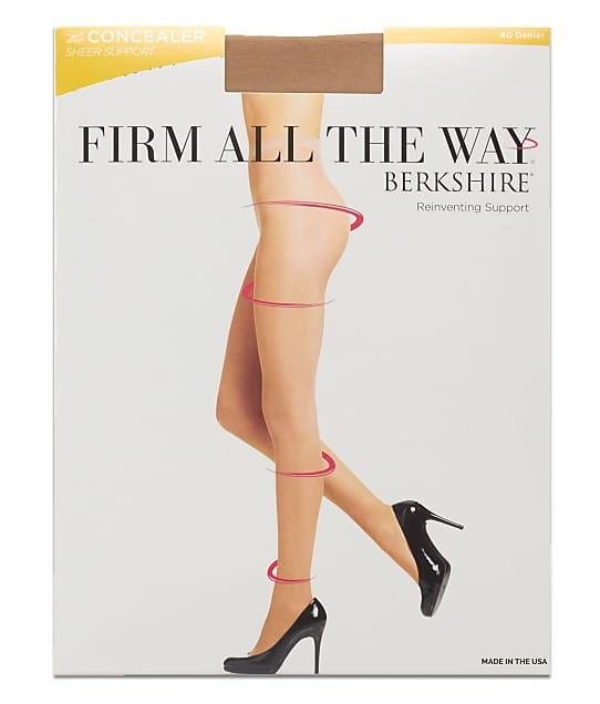 Berkshire: Firm All The Way Concealer Shaping Pantyhose