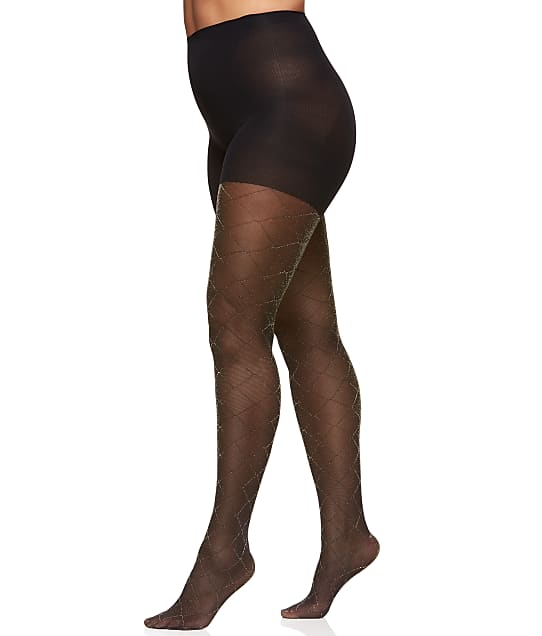 Berkshire: Plus Size The Easy On™ Diamond Control Top Tights