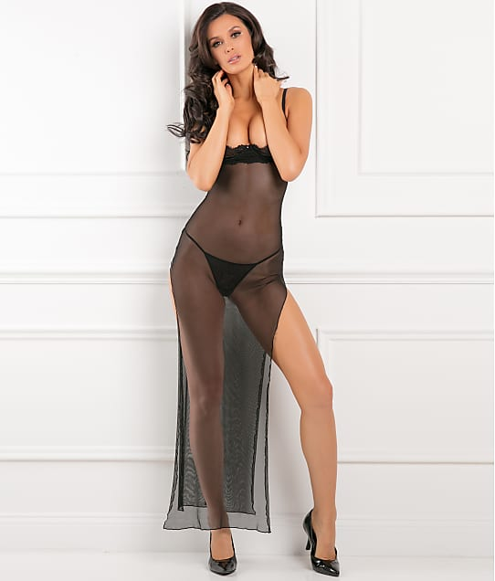 Rene Rofe: All Out There Open Cup Gown Set
