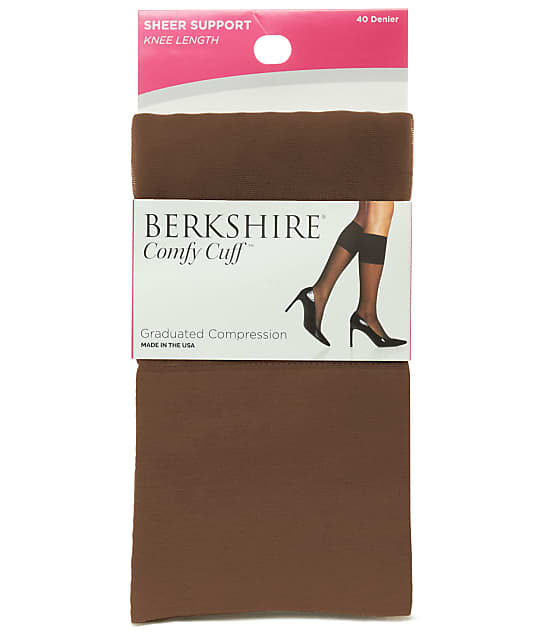 Berkshire: Comfy Cuff Graduated Compression Knee Socks