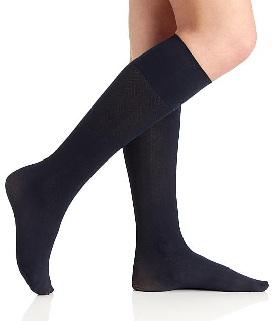 Berkshire: Comfy Cuff Herringbone Knee Socks